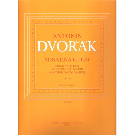 Dvořák A.- Sonatina op.100