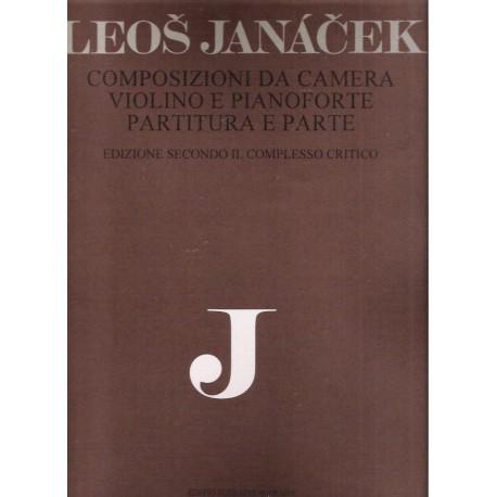 Janáček Leoš - Skladby pro housle a klavír