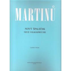 Martinů B.- Nový špalíček