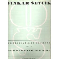 Ševčík O. - Opus 6 sešit IV