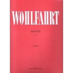 Wohlfahrt Franz - 60 etud op.45