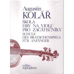 Kolář Augustin - škola hry na violu pro začátečníky
