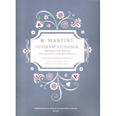 Martinů B.- Otvírání studánek