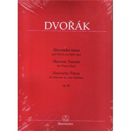 Dvořák Antonín - Slovanské tance op.46 4ms