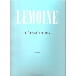 Lemoine Henri- Dětské etudy op.37