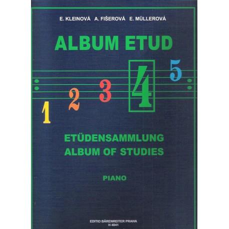 Kleinová - Album etud IV