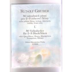 Gruber R. - 50 Národních písní