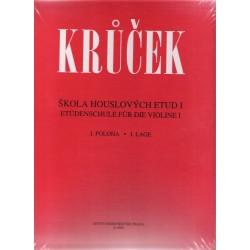 Krůček Václav - Škola houslových etud I sešit 1-2