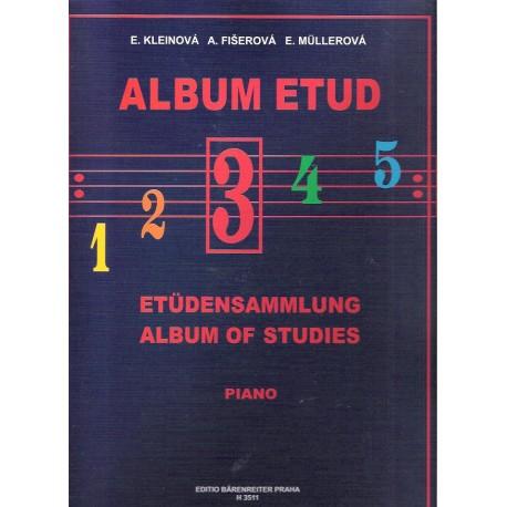 Kleinová - Album etud III