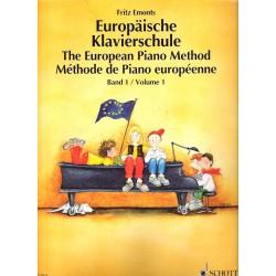 Emonts F.- Evropská klavírní škola 1