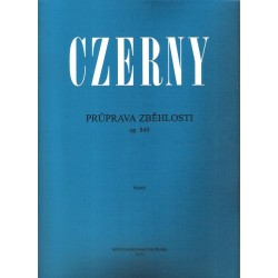 Czerny Carl - Průprava zběhlosti op.849