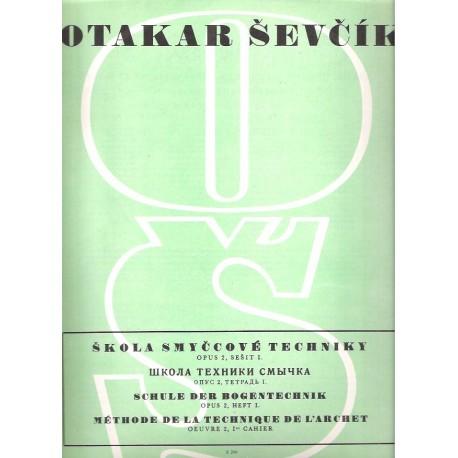 Ševčík Otakar - Opus 2 sešit I
