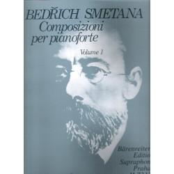 Smetana Bedřich- Klavírní skladby 1