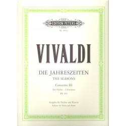Vivaldi Antonio- Čtvero ročních období op.8/3- Podzim F RV 293