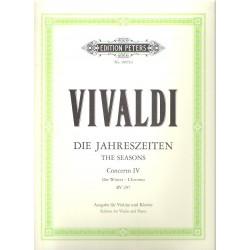 Vivaldi Antonio - Čtvero ročních období op. 8/4- Zima f RV 297
