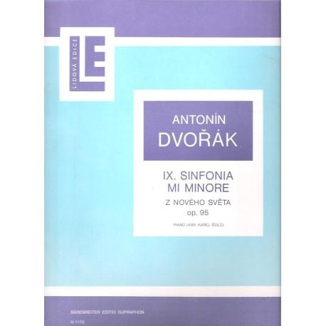 Dvořák Antonín- IX.Sinfonia Mi Minore Z Nového Světa op.95