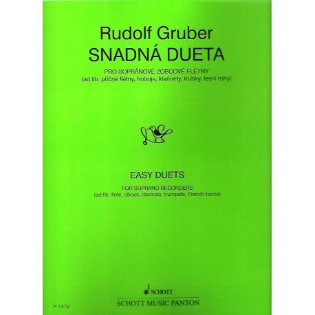 Gruber R. - Snadná dueta