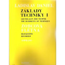 Daniel Ladislav - Základy techniky pro sopránovou flétnu I