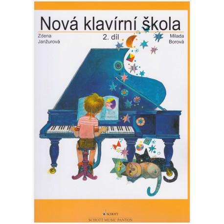 Janžurová Z.- Nová klavírní škola II.