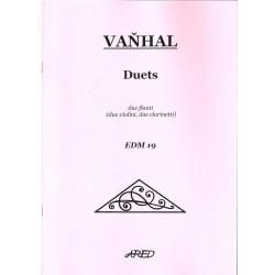 Vaňhal J.K. - Dueta