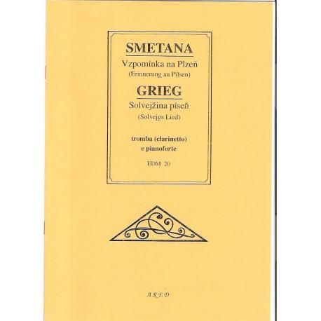 Smetana,Grieg - Vzpomínka na Plzeň,Solvejžina píseň