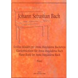 Bach J.S. - Knížka skladeb pro Annu Magdalenu Bachovou