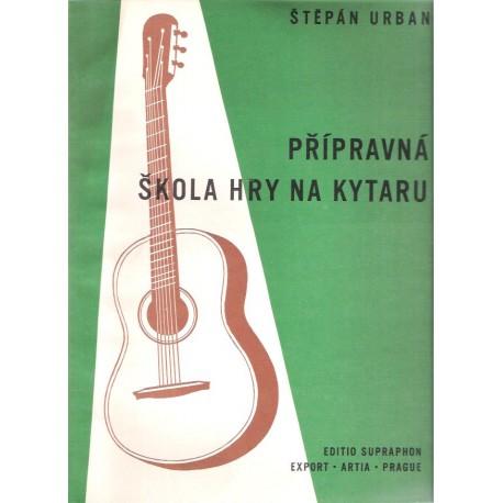 Urban Š. - Přípravná škola hry  na kytaru
