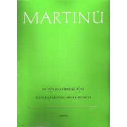 Martinů Bohuslav- Drobné klavírní skladby