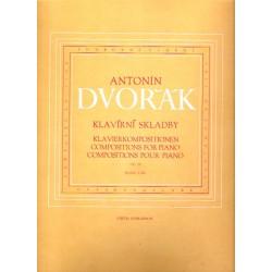 Dvořák Antonín- Klavírní skladby