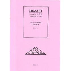 Mozart W.A.- Sonatiny č.5 a 6