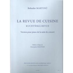 Martinů B.- Kuchyňská revue
