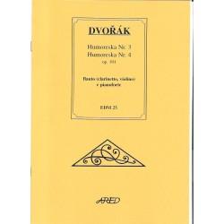 Dvořák Antonín- Humoresky č.3 a 4