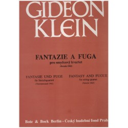 Klein G- Fantazie a fuga