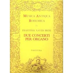 Brixi F.X. - 2 koncerty pro varhany