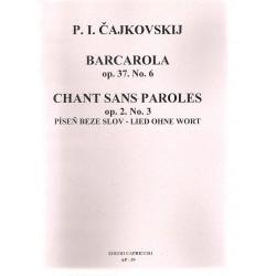 Čajkovskij - Barcarola,Píseň beze slov