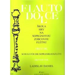 Daniel L.- Škola hry na sopránovou zobcovou flétnu 3