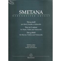 Smetana B.- Klavírní trio g moll