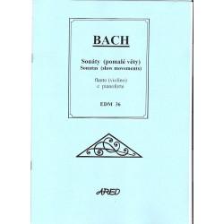 Bach J.S.- Sonáty(pomalé věty)
