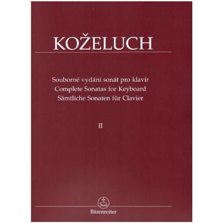 Koželuh L.- Sonáty pro klavír II