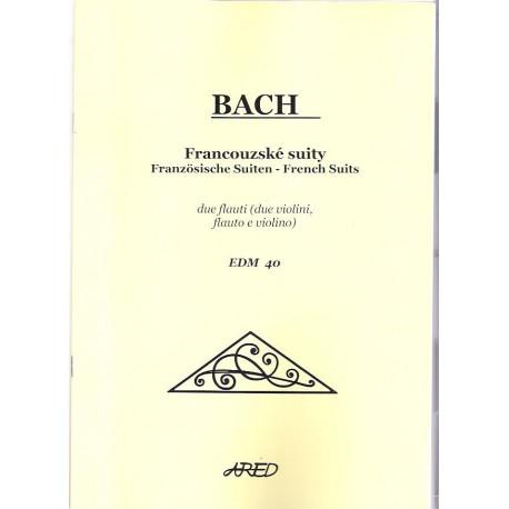 Bach J.S.- Francouzské suity