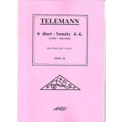Telemann G.P.- 6 duet /4-6/