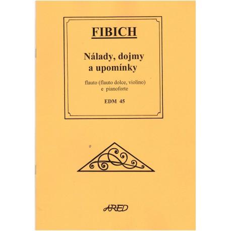 Fibich - Nálady, dojmy a upomínky