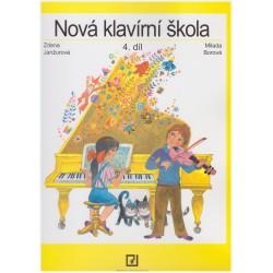 Janžurová Z. - Nová klavírní škola 4