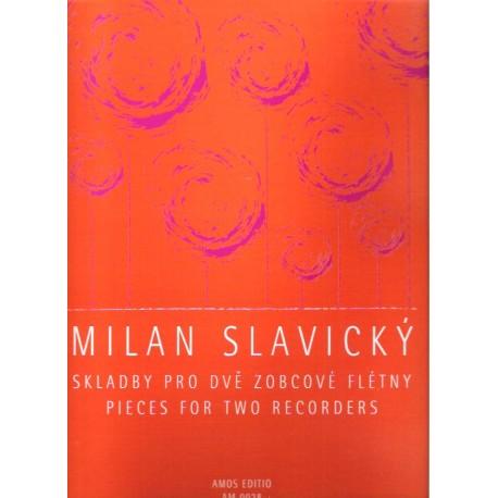 Slavický M.- Skladby pro dvě zobcové flétny