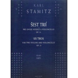 Stamic K. - Šest trií pro dvoje housle a violoncello op.21