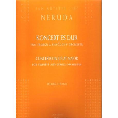 Neruda J.K.J.- Koncert pro trubku Es dur