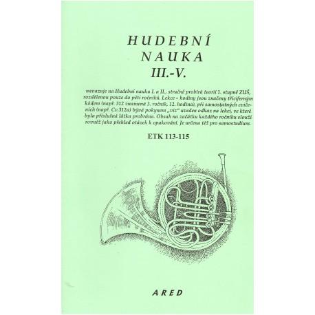 Klindera - Hudební nauka III.-IV.