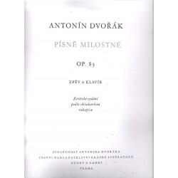 Dvořák Antonín- Písně milostné