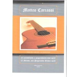 Carcassi Matteo- 25 melodických a progresivních etud op.60