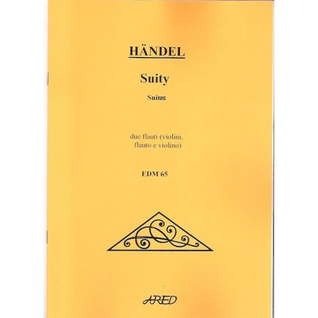 Handel G.F. - Suity pro 2 flétny